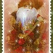 Victorian Santa Poster