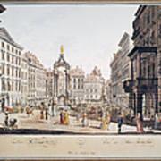 Vienna: Hohemarkt, 1793 Poster
