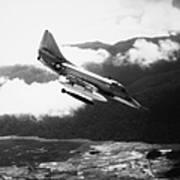 Vietnam War: A4 Skyhawk Poster