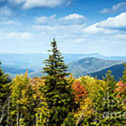 View Along The Highland Scenic Highway Poster