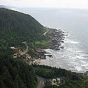 View From Cape Perpetua 2 Poster