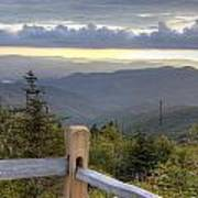 View From Clingmans Dome 2 Poster