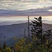 View From Clingmans Dome 4 Poster