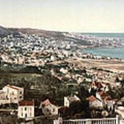 View From Mustapha - Algiers Algeria Poster