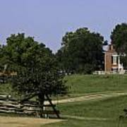 View Of Appomattox Courthouse 1 Poster by Teresa Mucha