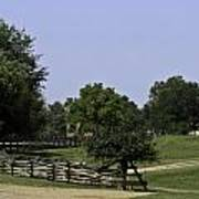 View Of Appomattox Courthouse 2 Poster by Teresa Mucha