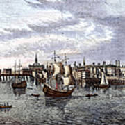 View Of London, 1550 Poster