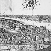 View Of London, 1647 Poster