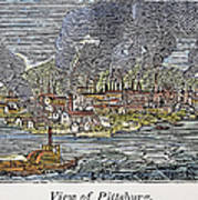 View Of Pittsburgh, 1836 Poster by Granger