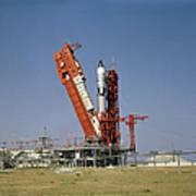 View Of The Gemini-titan 4 Spacecraft Poster