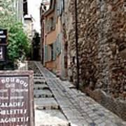 Village Alley Poster