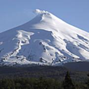 Villarrica, Steaming Crater, Araucania Poster