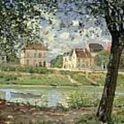 Villeneuve La Garenne Poster by Alfred Sisley