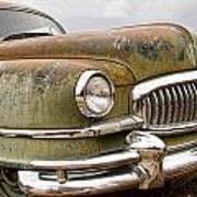 Vintage 1951 Nash Ambassador Front End Poster