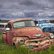 Vintage Auto Junk Yard Poster