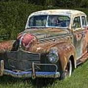 Vintage Automobile No.0488 Poster
