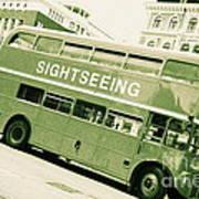 Vintage Bus Poster by Sophie Vigneault