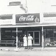 Vintage Coca Cola Store Poster