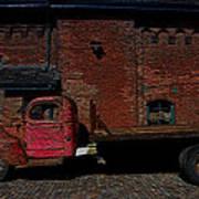 Vintage Distillery Truck Poster