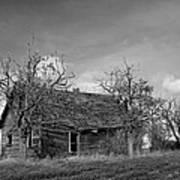 Vintage Farm House Poster