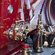 Vintage Fire Truck 1 Poster