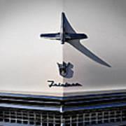 Vintage Ford Fairlane Hood Ornament Poster