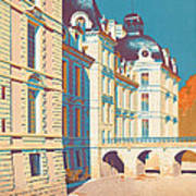 Vintage French Travel Poster Poster
