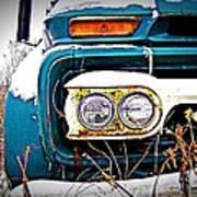 Vintage Gmc Truck Poster
