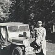 Vintage Jeep Poster