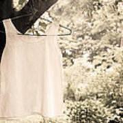 Vintage Linen Cami Poster