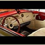 Vintage Packard Interior Poster