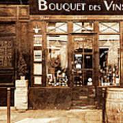 Vintage Paris 4 Poster