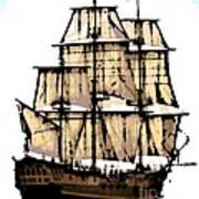 Vintage Sails Poster