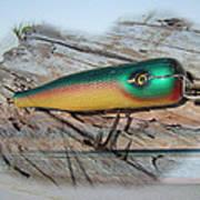 Vintage Saltwater Fishing Lure - Masterlure Rocket Poster