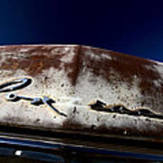Vintage Vehicle Left To Rust In Readlyn Saskatchewan Poster