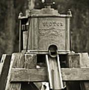 Vintage Water Pump Poster