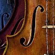 Violin Composition Poster
