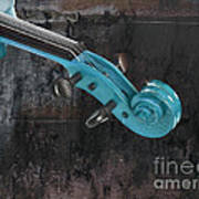 Violinelle - Turquoise 05a2 Poster
