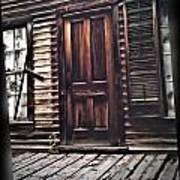 Virginia City Ghost Town Door I Poster