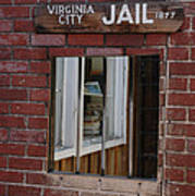 Virginia City Nevada Jail Poster