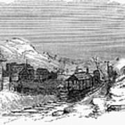 Virginia: Salt Mine, 1857 Poster