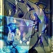 Virtual Kiss 1 Poster by Paulo Zerbato