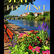 Visit Provence Poster Poster