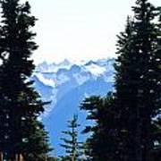 Vistas Along The Trail Poster