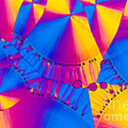 Vitamin B6 Crystal Poster