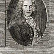 Voltaire, French Author Poster