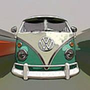 Vw Bus Art Poster