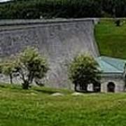 Wachusett Dam Panoramic Poster