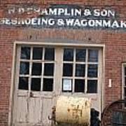Wagonmaking Poster