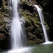 Waikani Falls And Pond Poster